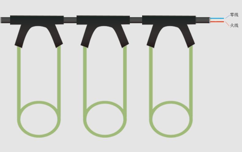 PVC碳纤维发热电缆